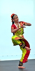 Classical Dance at Indo-American Festival 2008 (Sujit Mahapatra) Tags: camera public girl festival canon is dance with action indian traditional nj picture taken 300mm classical 75300mm drama edison bharat indoamerican bridgewater the natyam xti at sujitphotography jul2008 26jul2008