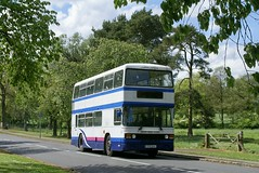 Sprinting Olympian (Renown) Tags: heritage buses rally first stokeontrent preserved pops staffordshire coaches doubledecker wedgwood preservation leyland olympian ecw pmt barlaston crosville runningday gfm104x