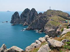 Lighthouse-Somaemuldo-South Korea (mikemellinger) Tags: ocean lighthouse nature beauty island rocks cliffs southkorea southchinasea maritimenationalpark 소매물도 somaemuldo hallyeo gettyimageskoreaq2