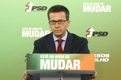 Conferência de Imprensa de Professor Carlos Moedas
