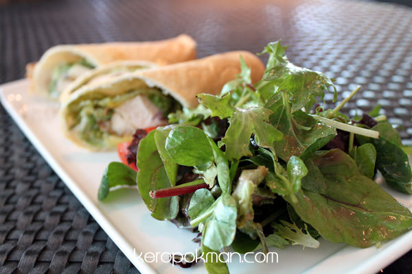 Grilled Cajun Chicken Wrap - Privé - Bakery Cafe @ Marina at Keppel Bay