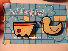 Bath Time Theme Set Brooch