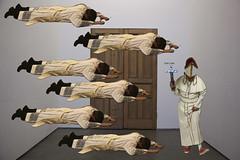 levitation #2 (Juan Valentin, Images) Tags: newyorkcity selfportrait pope collage self catholic religion autoretrato levitation papa priest catolico curas levitacin sacerdotes levitationlevitacin juanvalentin levitationlevitacin