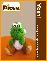 Yoshi Crochet | Amigurumi pattern from robotrish.com. It too… | Flickr | 239x185