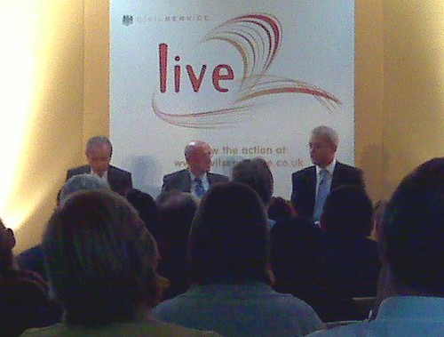 Alan Sugar at #cslive09