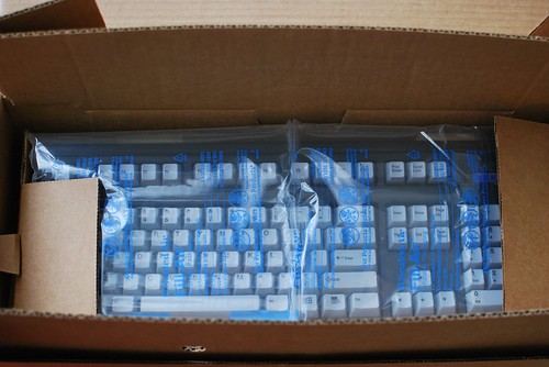 Unboxing my Unicomp keyboard!