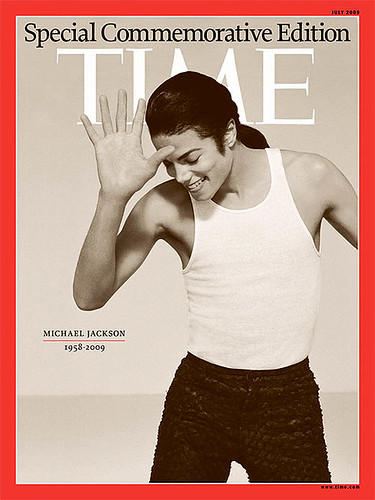 Time Magazines Special Commemorative Edition in honor of The King of Pop