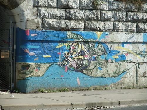 Dufferin jog mural