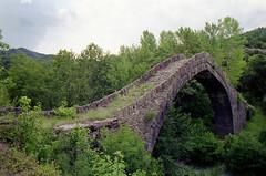 Tsipiani stone bridge (dkilim) Tags: bridge stone minolta greece reala xd5 epirus zagorochoria zagori ipiros     tsipiani