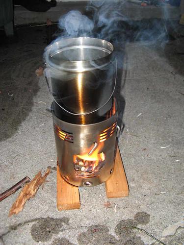 My Hobo Woodburning Camp Stove Rambling On