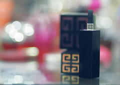Givenchy addict. (Aih.) Tags: 85mm foundation lipstick f18 addict givenchy blusher bronz thsbgisreald givenchyaddict givenchyfoundation givenchyblusher givenchylipstick