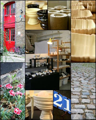Ceramist,Hitomi's open studio 17/07/09