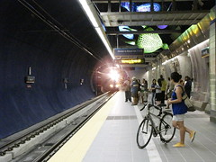 Link light rail has made it easier for many of us to go without a car for the last couple of weeks. Photo by Wendi.