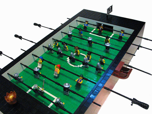 LEGO Coffee Table Foosball Table Top
