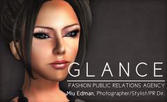 GLANCE businesscard _Miu Edman