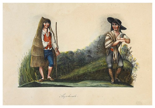 009- Pastores-Picturesque review of the costume of the portuguese 1836