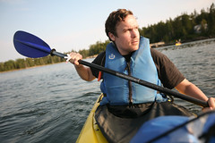 andy action shot (sgoralnick) Tags: andy kayak maine seakayak acadia acadianationalpark andyclymer