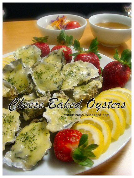 Home-Cooking: Cheese Baked Oysters