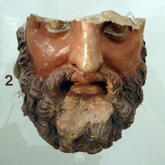 Bearded head (diffendale) Tags: sculpture rome roma male face ceramic temple roman head terracotta hill victory zeus bearded picnik bce palatine vittoria tempio polychrome palatium 3rdcbce pleiades:findspot=423025