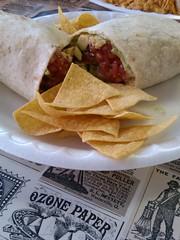 Avocado Burrito at Lolita's Taco