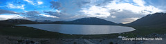 Sheosar Lake (High Blue) Tags: panorama lakes sheosarlake concordians summer2009 nikonflickraward lakesofpakistan