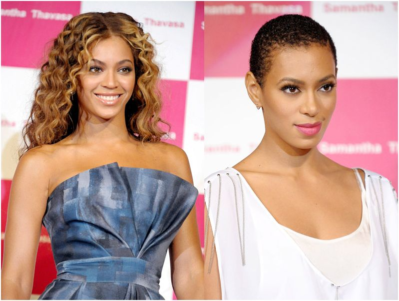 Beyonce & Solange Knowles for Samantha Thavasa