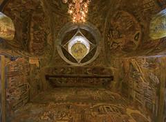 Mănăstirea Probota, Romania (stefbra) Tags: interior monastery romania orthodox fresco stefbra stefanbrajter