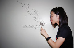 hope hard, make a wish, blow the dandelion (tuesdy.is.shutterbot) Tags: fave