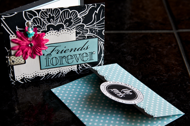 friends forever - card & envelope