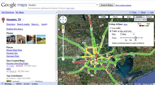 Google Maps Live Traffic (by shannonpatrick17)