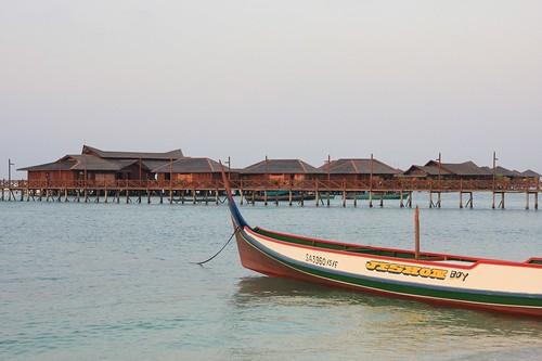 麻布(mabul)海上木屋