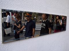 648 (Carlos Noboro) Tags: japan mirror sidewalk