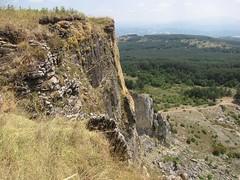 La parete sud del Sasso di Simone