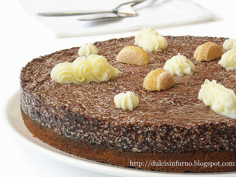 Amato Dulcis in Furno: Torta Fredda al Cioccolato BW47
