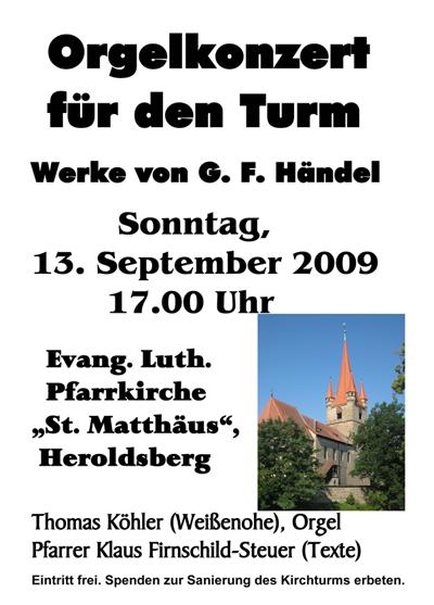 Orgelkonzert Heroldsberg