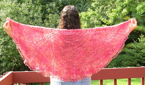 Secret Garden Shawl (Half)