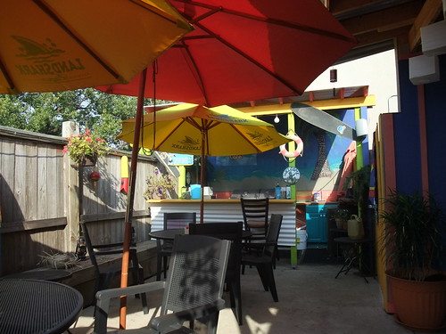 Banana Bean Cafe's Patio