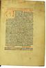 Decorated initial and manuscript inscriptions in Valerius Maximus, Gaius: Facta et dicta memorabilia
