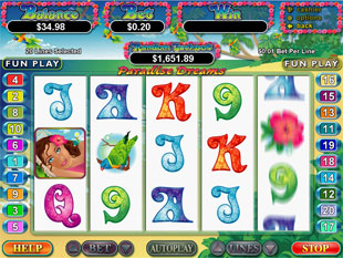 Paradise Dreams slot game online review
