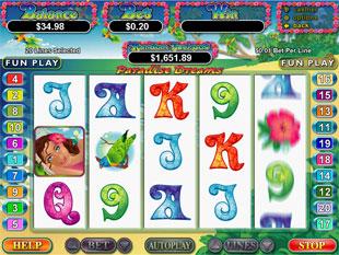 Paradise Dreams slot game online review