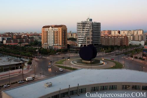 Amanece en Valencia