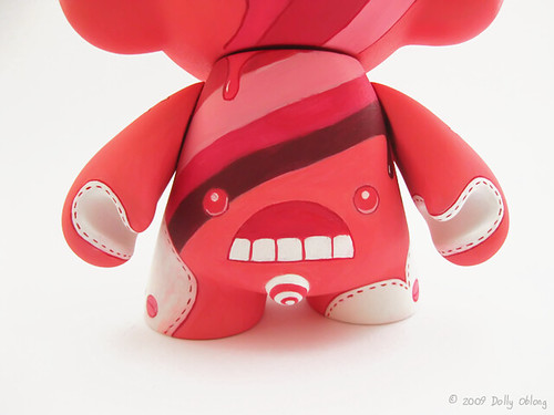 Custom Munny Loulou (back) par Dolly Oblong