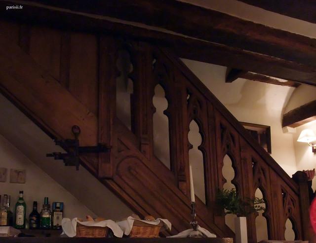 Cet escalier est d'époque
