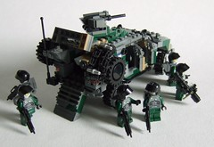 Dragoon Mk.II 2 (Aleksander Stein) Tags: lego military vehicle patrol mkii dragoon apv armoured kmv hagglunds