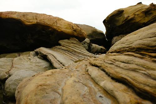 奇岩。似水年華