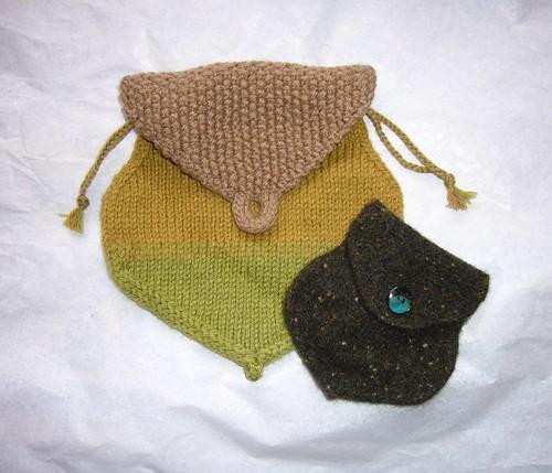 acorn purse