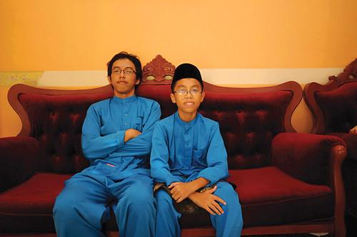 saya dan adik