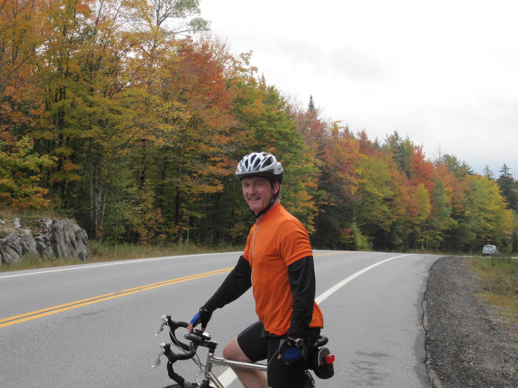 On the road from Tupper Lake to Long Lake