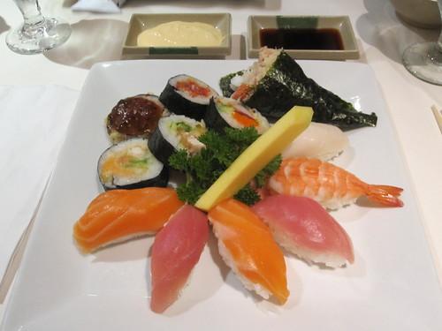 Sushi nozomi at Tokyo