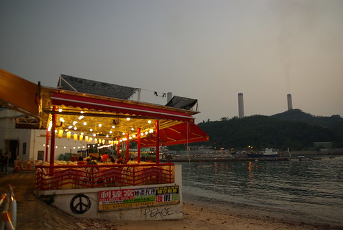 榕樹灣 (Yung Shue Wan) + coal power plant